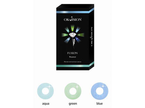 Цветные линзы Fusion Nuance (6 линз)
