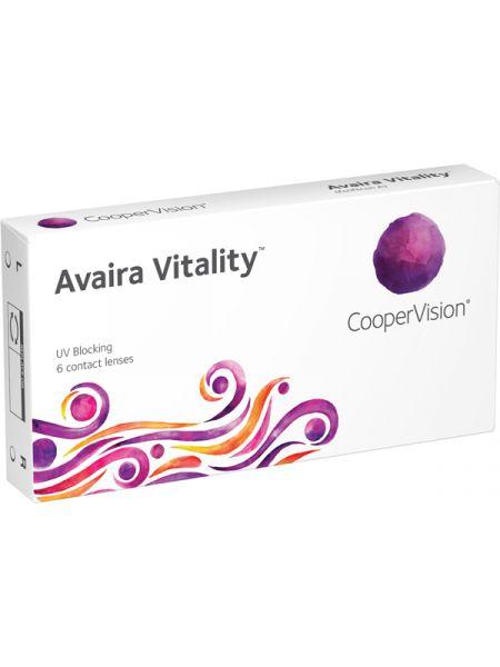 Контактные линзы Avaira Vitality 6 линз (3 пары)