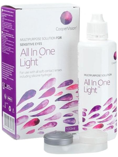 Растворы CooperVision All in one light 100 мл