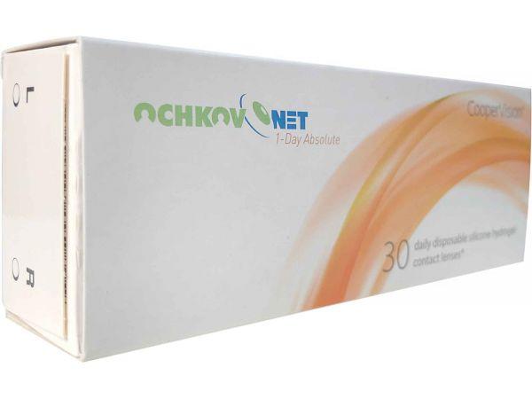 Контактные линзы Ochkov.Net 1-Day Absolute 30 линз (15 пар)