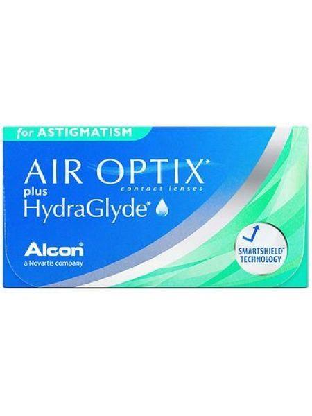 Контактные линзы Air Optix Plus Hydraglyde for Astigmatism 3 линзы