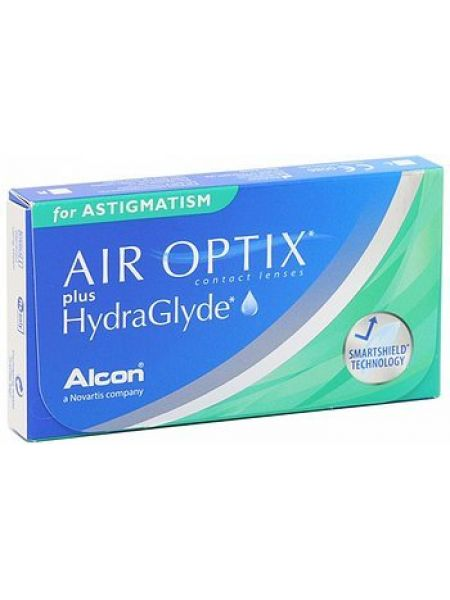 Контактные линзы Air Optix Plus Hydraglyde for Astigmatism 3 линзы
