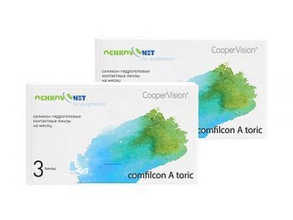 Контактные линзы Ochkov.Net for Astigmatism 6 линзы
