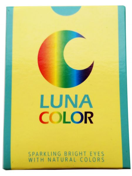 Цветные линзы Luna Two Tone 2 линзы (1-пара)