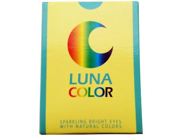 Цветные линзы Luna One Tone 2 линзы (1-пара)