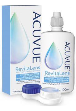 Раствор для линз ACUVUE Revitalens 360 мл + контейнер