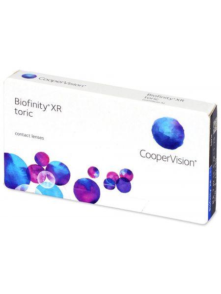 Торические линзы Biofinity XR Toric 3 линзы)