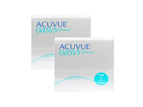 Контактные линзы ACUVUE OASYS 1-Day with HydraLux 180 линз (90 пар)