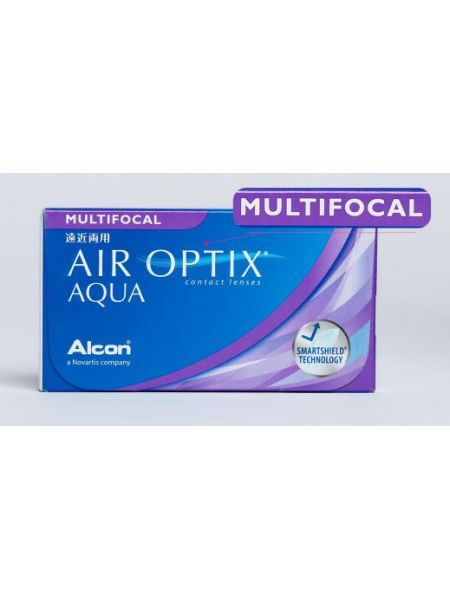 Контактные линзы Air Optix plus HydraGlyde Multifocal 3 линзы