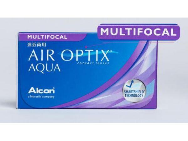 Контактные линзы Air Optix plus HydraGlyde Multifocal 3 линзы
