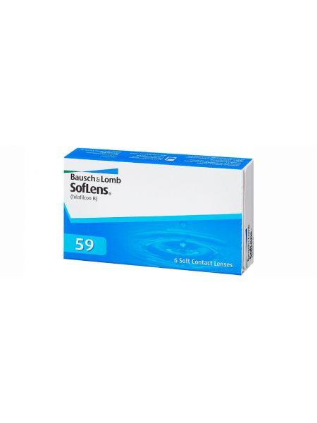 Контактные линзы SofLens Comfort (SofLens 59) 6 линз (3 пары)