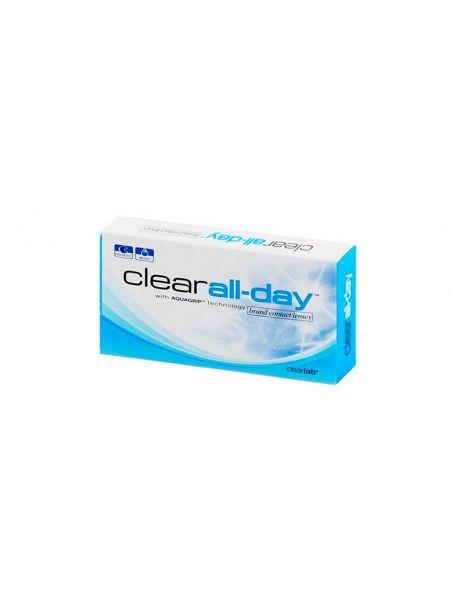 Контактные линзы Clear All Day 6 линз (3 пары)