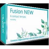 Контактные линзы Fusion NEW 6 линз (3 пары)