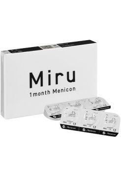 (МЯТАЯ УПАКОВКА)  Контактные линзы Miru 1 month 6 линз (3 пар)