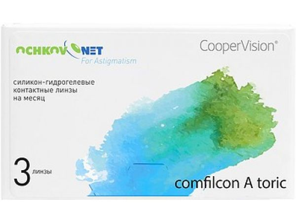 Контактные линзы Ochkov.Net for Astigmatism 3 линзы