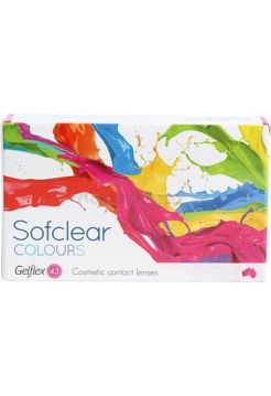 Контактные линзы Sofclear Colours 2 линзы