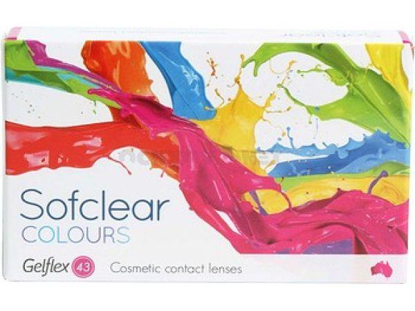Контактные линзы Sofclear Colours 2 линзы