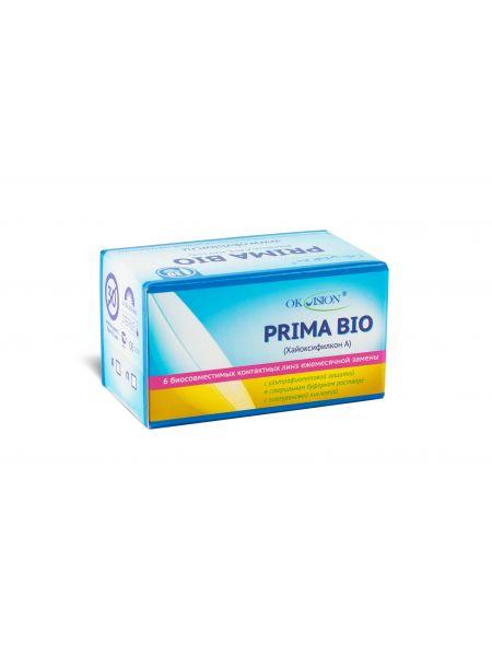 Контактные линзы Prima Bio (6 линз)
