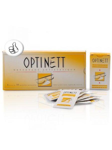 Салфетка  для очистки очковых линз Optinett™ (10шт.)