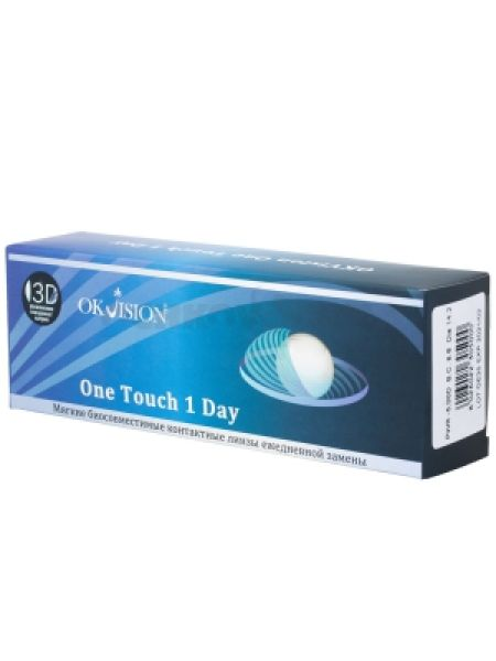 Контактные линзы One Touch 1 Day 30 линз (15 пар)
