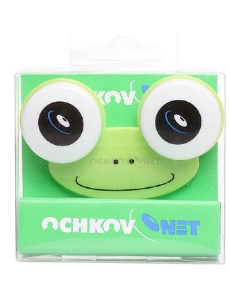 Контейнер для линз Ochkov.Net Лягушка