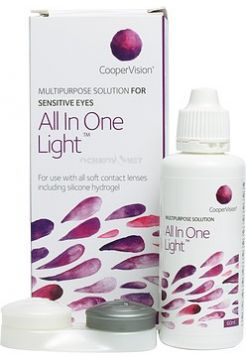 Растворы CooperVision All in one light 60 мл