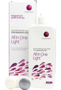 Растворы CooperVision All in one light 250 мл