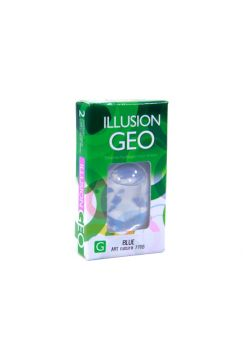 Цветные линзы Illusion Geo Magic 2 линзы (1 пара)