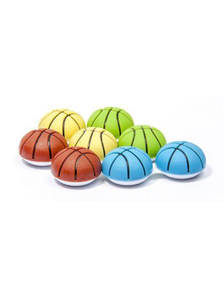 Контейнер для линз «Баскетбольный мяч» в ассортименте