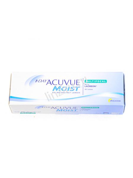 Контактные линзы 1-Day Acuvue Moist Multifocal 30 линз (15 пар)