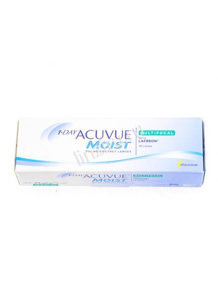 Контактные линзы 1-Day Acuvue Moist Multifocal 30 линз (15 пар)