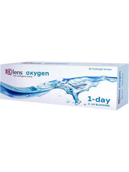 Контактные линзы IQLens Oxygen 1-day 30 линз (15 пар)
