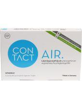 Контактные линзы Contact Air spheric 6 линз (минусовые диоптрии)