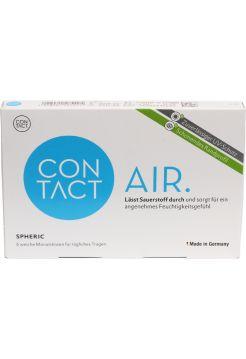 Контактные линзы Contact Air spheric 6 линз (плюсовые диоптрии)