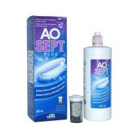 Раствор Aosept Plus 360 мл + контейнер с АОдиском
