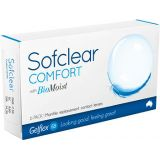 Контактные линзы Sofclear Comfort with BioMoist 6 линз (3 пары)