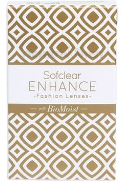 Контактные линзы Sofclear ENHANCE BioMoist 2 линзы (1 пара)