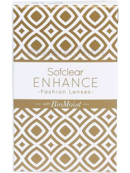 Оттеночные  линзы Sofclear ENHANCE BioMoist 2 линзы (1 пара)