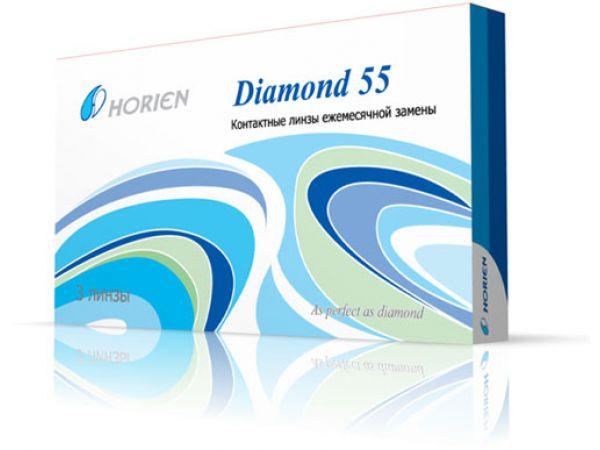 Контактные линзы Diamond 55 3 линзы