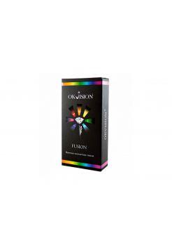 (МЯТАЯ УПАКОВКА) Цветные линзы Fusion 2 линз Оптическая сила (Оптическая сила gray2 8,6 -0.00)