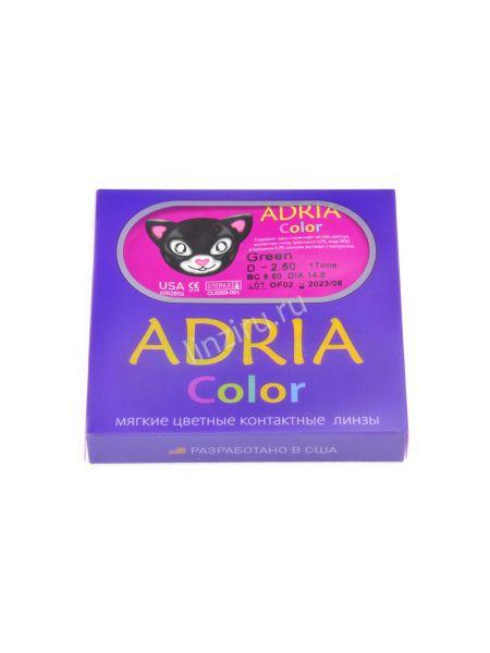 Цветные линзы Adria Color 1Tone 2 линзы (1 пара)
