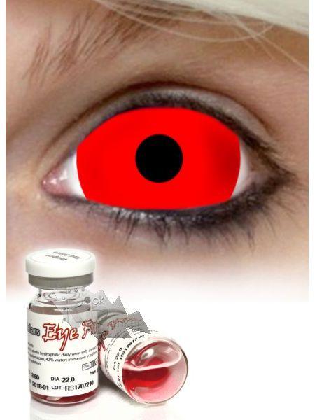 Контактные линзы Red Sclera 1 линза