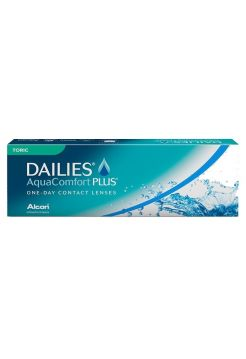 Торические линзы Dailies Aqua Comfort Plus Toric, (30 линз)