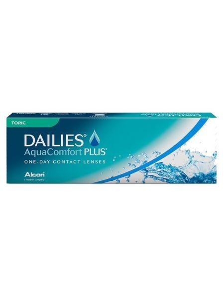 Торические линзы Dailies Aqua Comfort Plus Toric, 30 линз (15 пар)