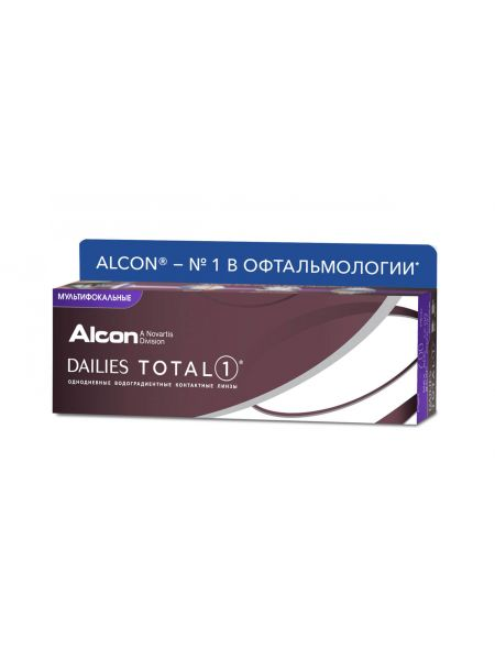 Контактные линзы Dailies Total1 Multifocal 30 линз (15 пар)