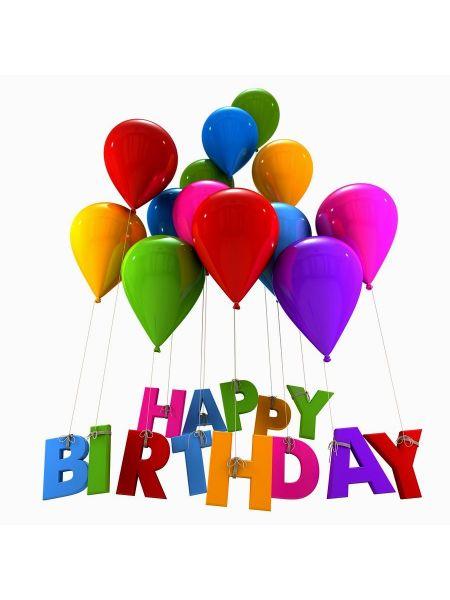 Салфетка Happy birthday