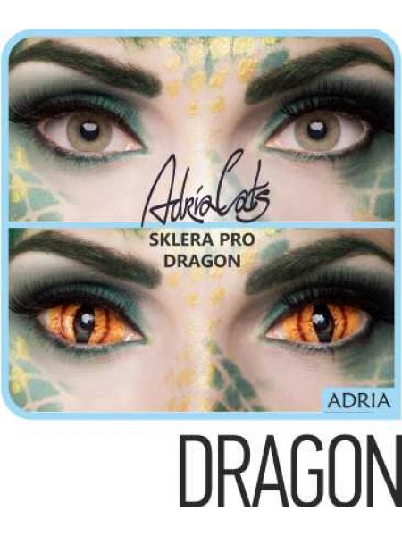 Карнавальные линзы Adria Sclera-Pro призматическая 1 линза