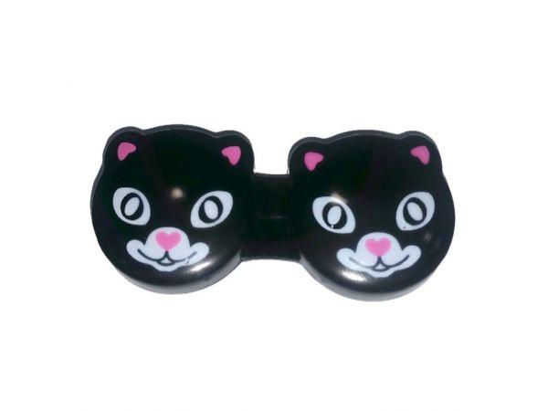 Контейнер для линз Adria Black Cat