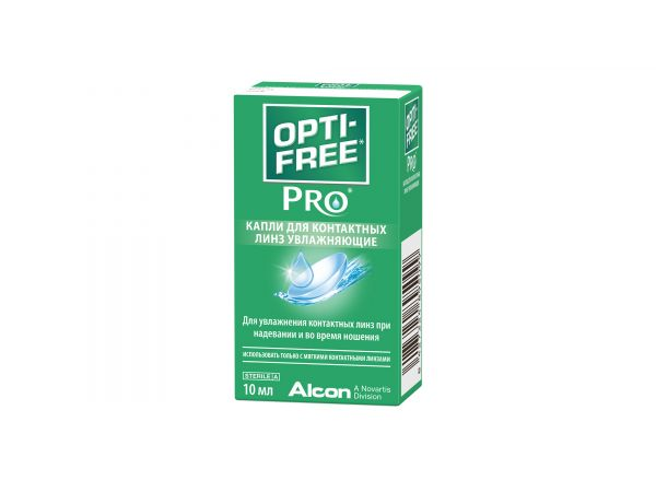 Opti-free PRO 10 мл