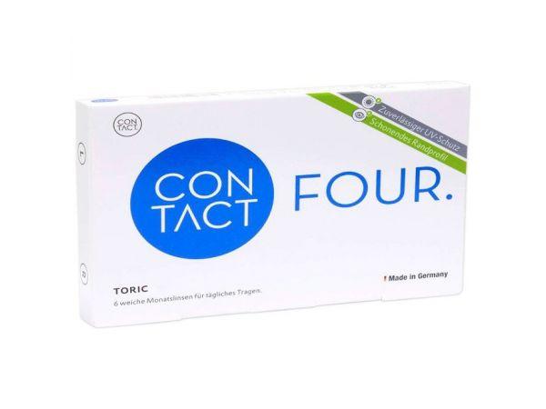 Контактные линзыContact Four toric 6 линз (3 пары)
